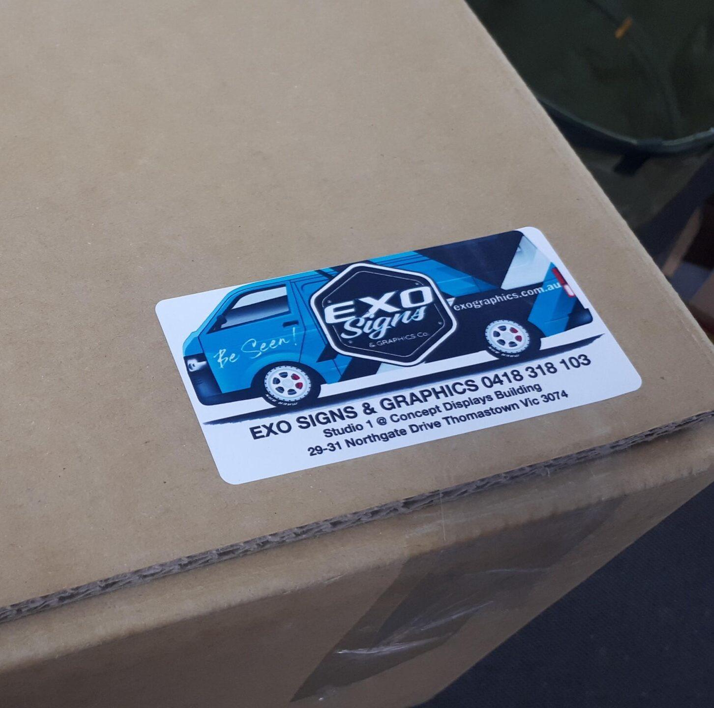 U Design - Roll 200 off 101 X 51mm Paper Label
